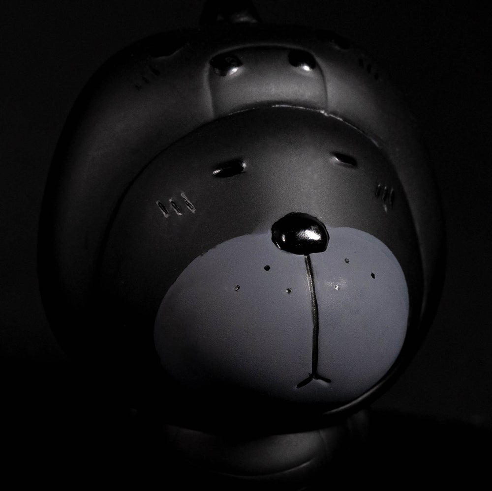 Image of MUNAI KUMA DINO 'UNBOX IN BLACK' EDITION