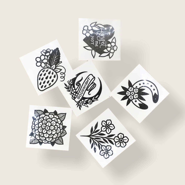 Image of Temporary Tattoo Set