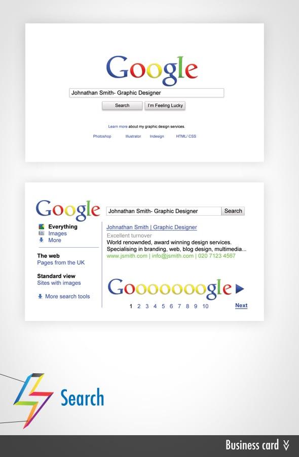 dbh — Google Business Card