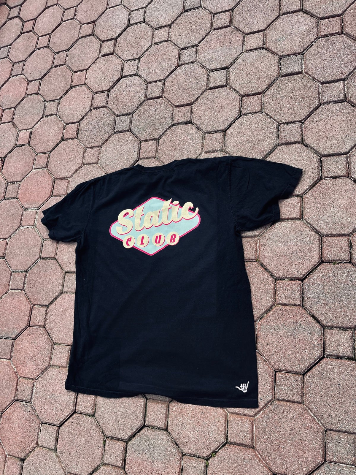 Diner sign tee