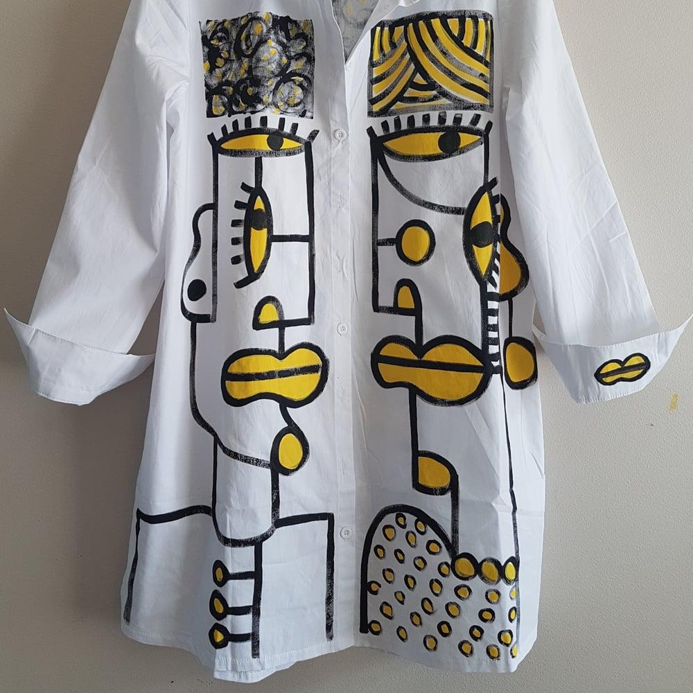 Image of painted shirt...medium