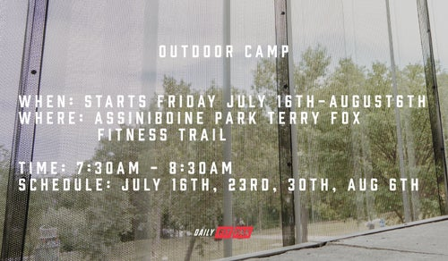 Image of SUMMER SHRED: OUTDOOR CAMP