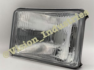 Image of (2) 4x6 OEM STOCK STYLE GLASS 6K White LED ( Low beam only )
