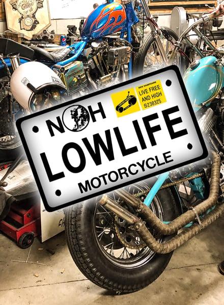 Image of Lowlife Plate [Sticker]