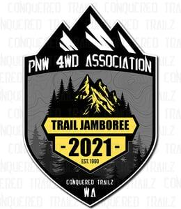 Image of PNW4WDA 2021 Trail Jamboree - Event Badge