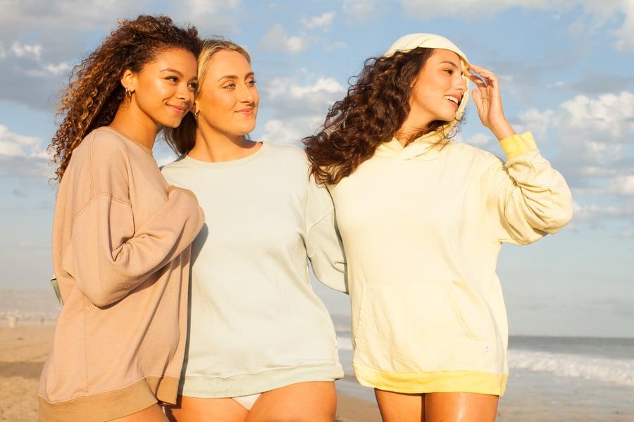 Image of KC Active Loungewear Line: Hoodie Wax Yellow