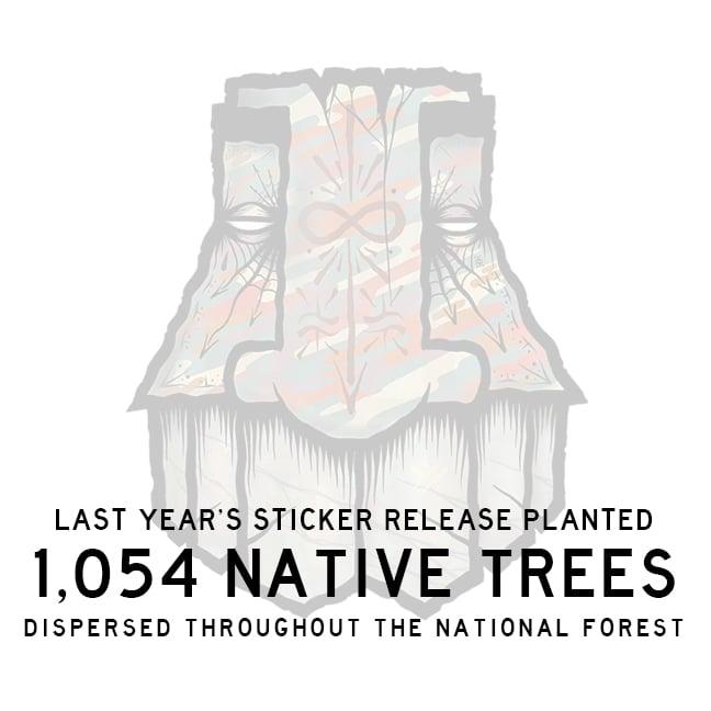 Jumbo GATS Sticker 2021 (PLANT 2 TREES)