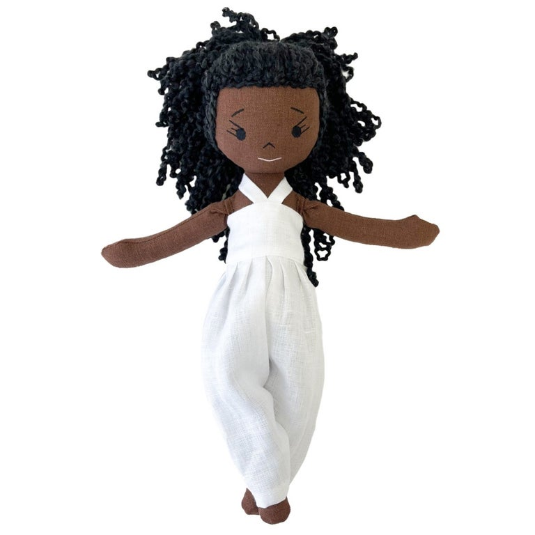 Ren Handmade Linen Doll (THIS ITEM WILL SHIP ON OR BEFORE OCTOBER 10th)