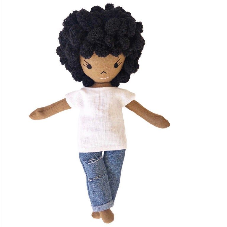 Aiko Handmade Linen Doll (Waitlist Preorder Item - ship date Oct 1-Mar 30,2022)