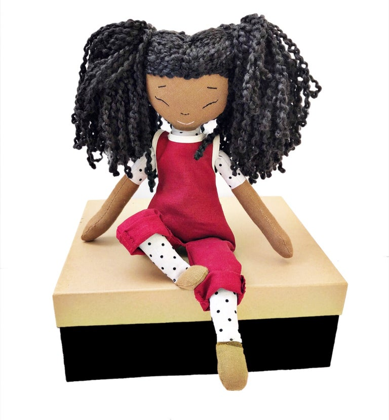 Jess Handmade Linen Doll (THIS ITEM WILL SHIP ON OR BEFORE OCTOBER 10th)