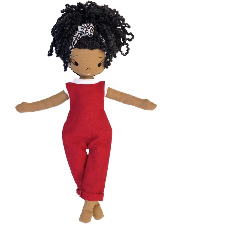 Alike Handmade Linen Doll (THIS ITEM WILL SHIP ON OR BEFORE OCTOBER 10th)