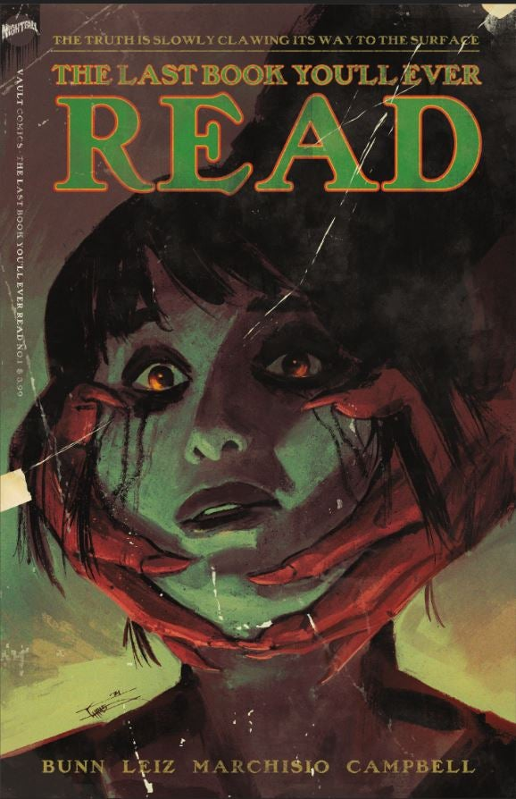 Image of The Last Book You'll Ever Read (Little Shop of Comics Variant)