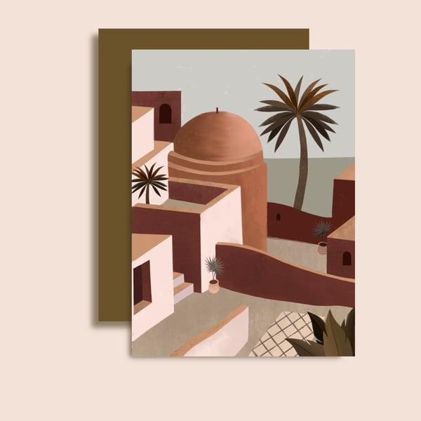 Image of Carte Sidi Bou Saïd