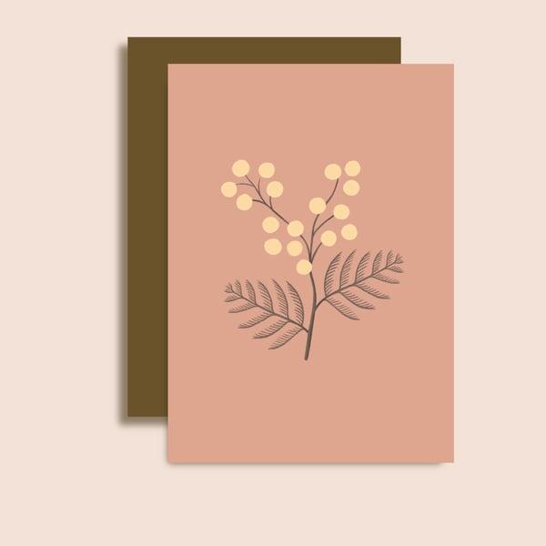 Image of Carte Brin de Mimosa