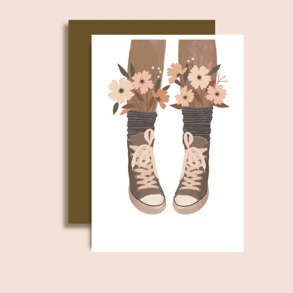 Image of Cartes Baskets Fleuries