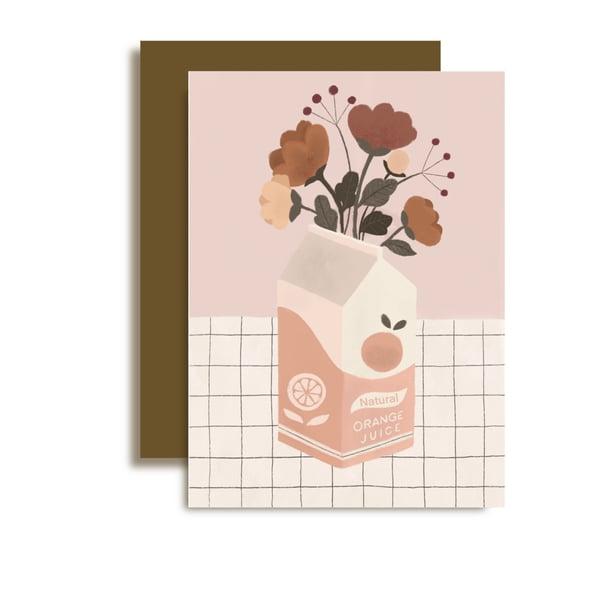 Image of Carte jus de Fleurs