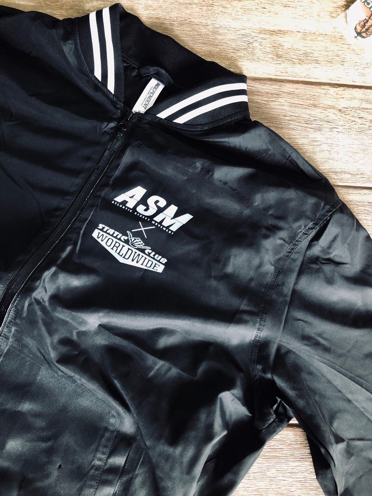 ASM x Static Club Vintage Bomber