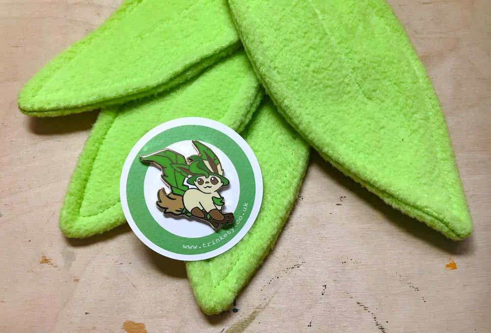 Image of Witch Leafon - Pin Badge