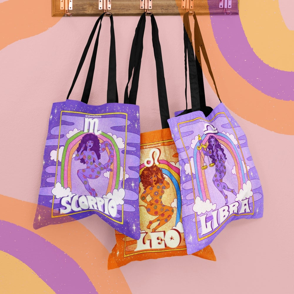 Image of PULP ASTROLOGY TOTE BAG