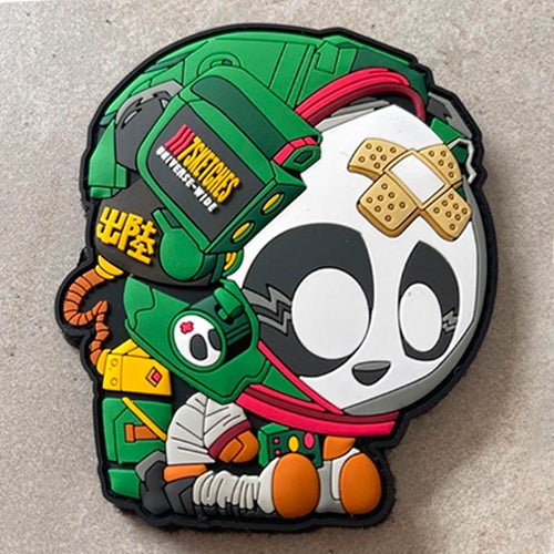 Image of Astro Panda Patch [Boba Fett Colorway]