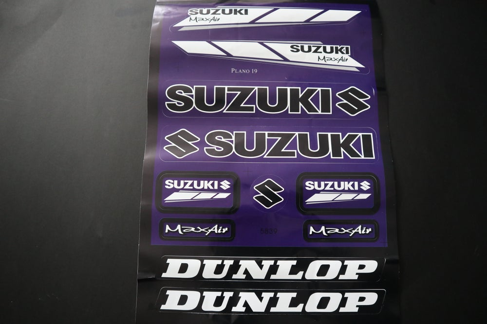 Suzuki Decal  Sheets