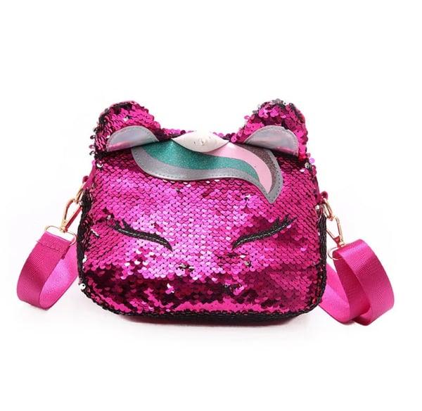 "Image of Sequin ""UNI"" Bag"