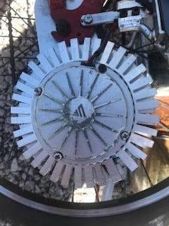 Image of Motor heat sink hubsink 100-250mm diameter motors