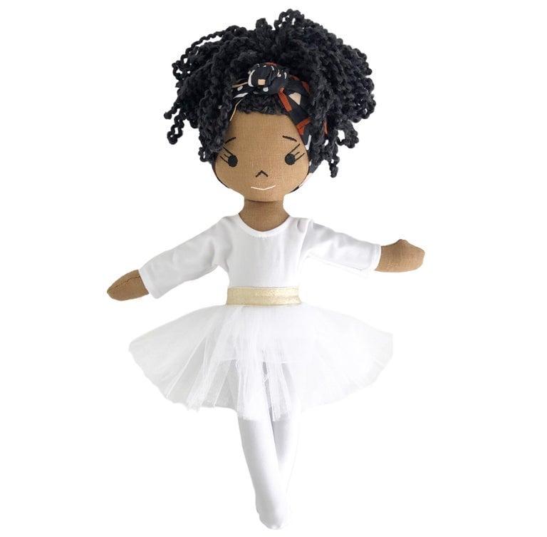 Aqueelah Handmade Linen Doll (Waitlist Preorder Item - ship date Oct 1-Mar 30,2022)