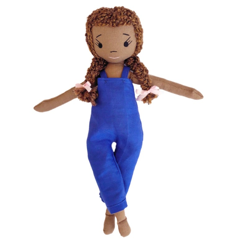 Aspen Handmade Linen Doll (THIS ITEM WILL SHIP ON OR BEFORE OCTOBER 10th)
