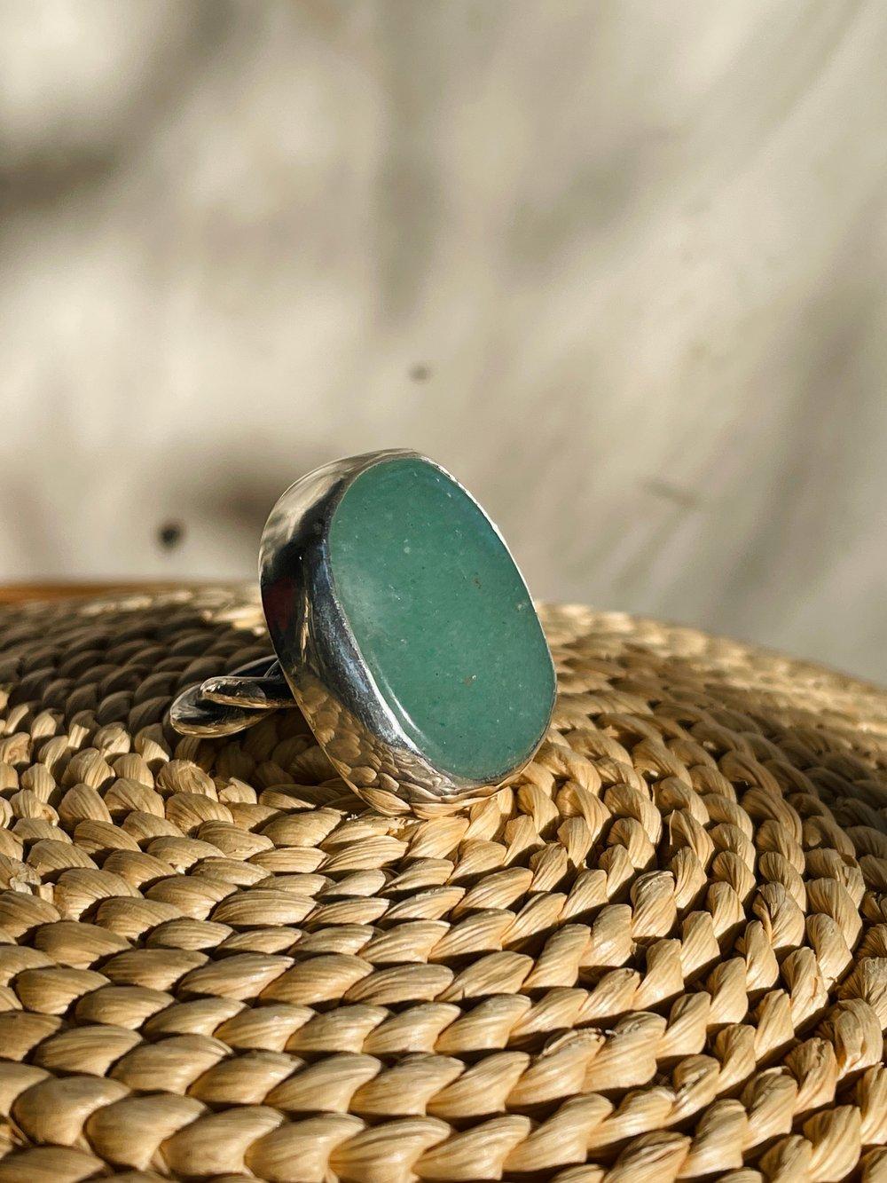 Image of Aventurine Lasso Ring