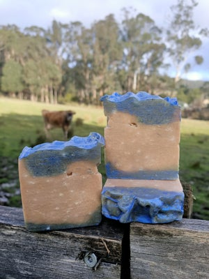Jersey Milk with pink clay Soap