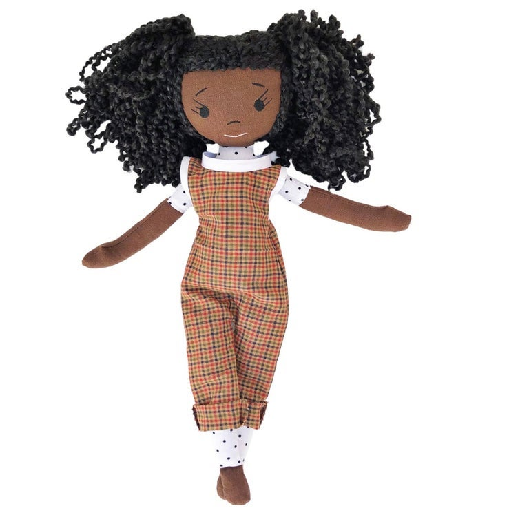 Zoe Handmade Linen Doll (THIS ITEM WILL SHIP ON OR BEFORE OCTOBER 10th)