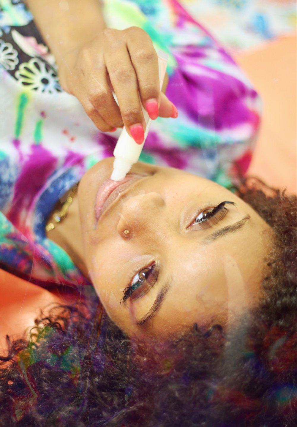Image of Dez Beauty's Cream lip gloss