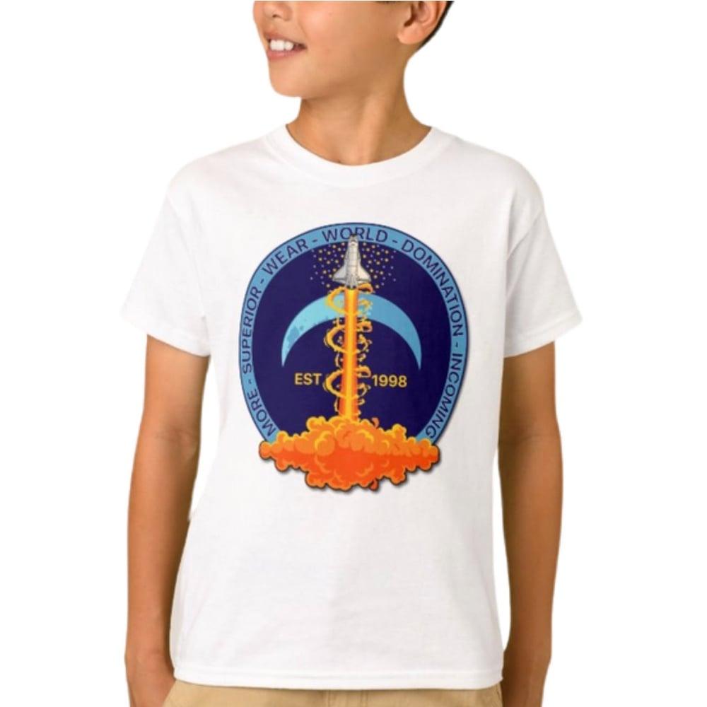 Rocket logo Kids