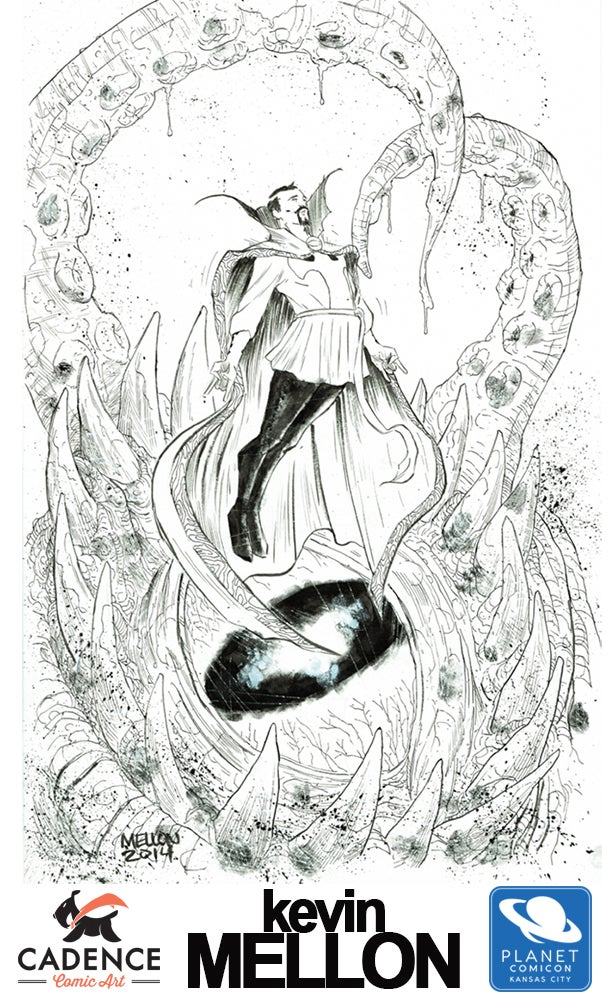 Image of KEVIN MELLON : PLANET CITY COMICON COMMISSIONS (MAIL ORDER/PICKUP) OPENS THURSDAY 7/15 at 3PM EST