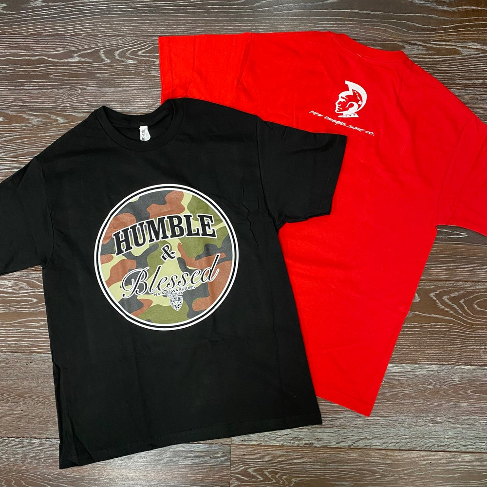 Image of Humble N Blessed CAMO Men's T-Shirt