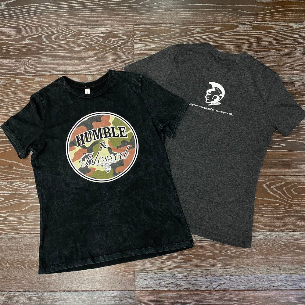Image of Humble N Blessed Camo WN's T-Shirt
