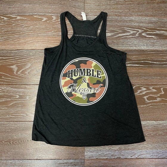 Image of Humble N Blessed Camo WN's Tank