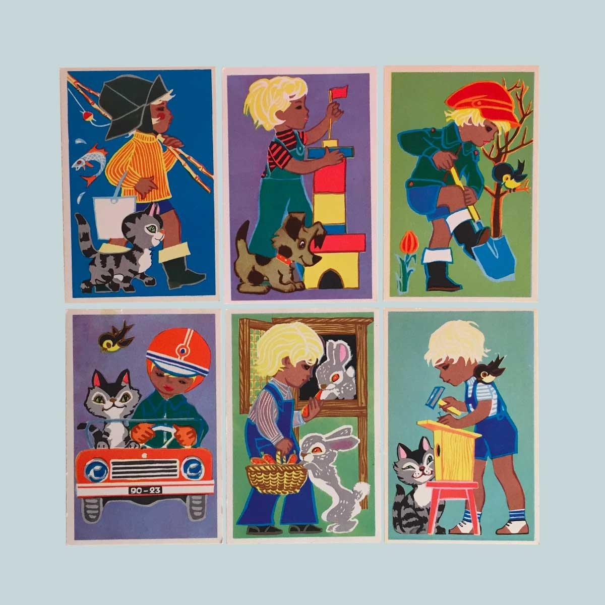 Image of Carte postale russe