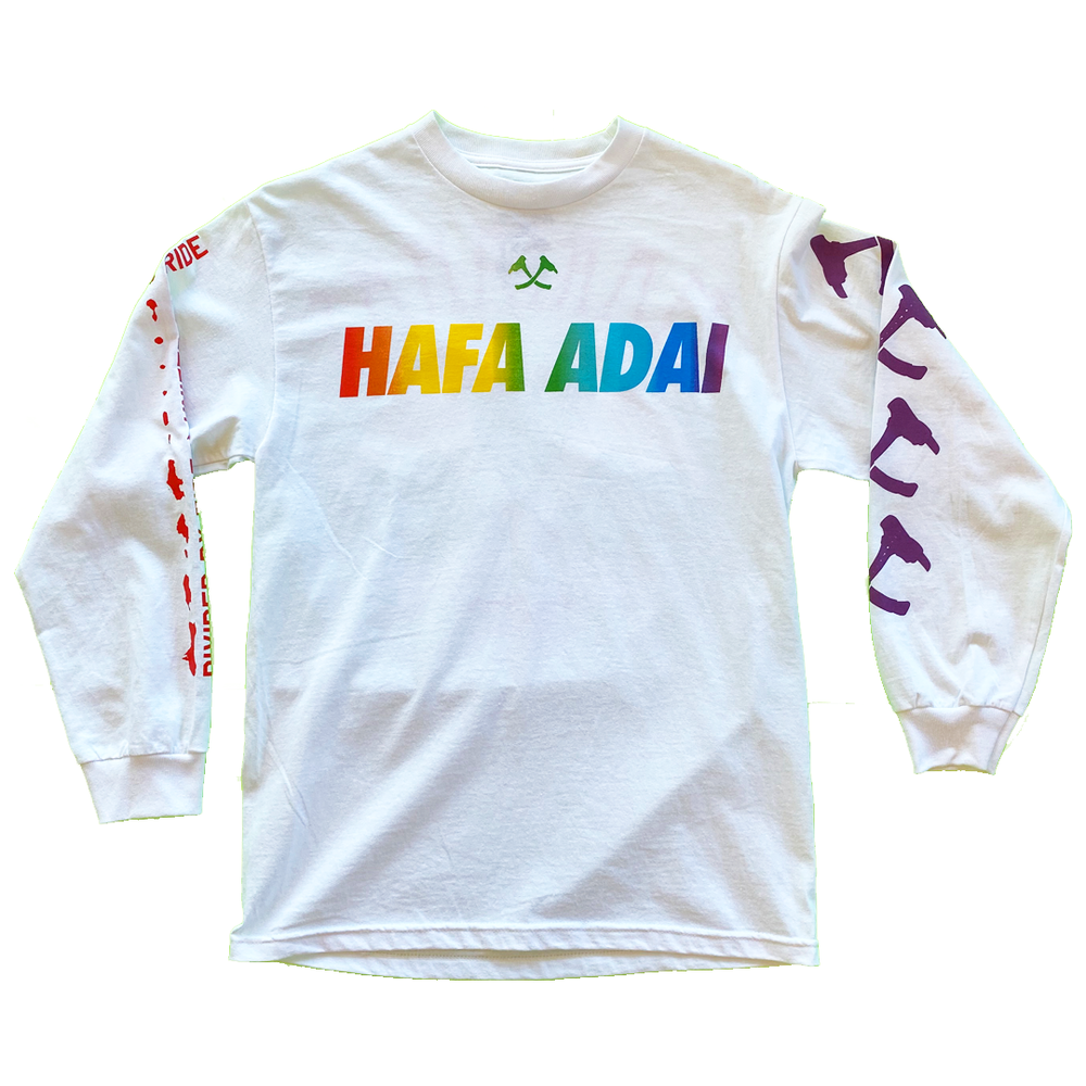 Image of The Welcome (Pride 2021) Long Sleeve