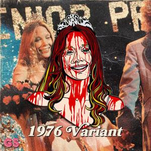 Image of Creepy Carrie Hard Enamel Pin