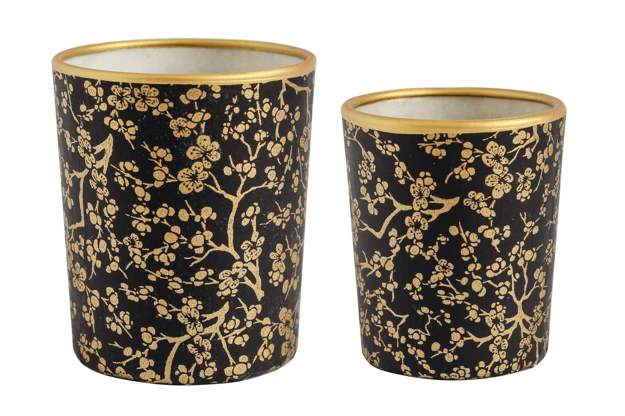 Image of Candle holders * Twig * Black