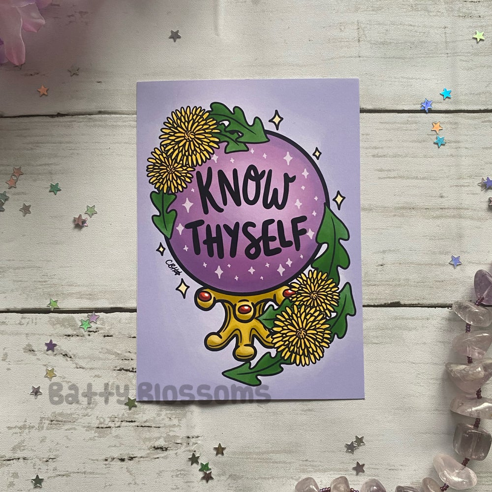 'Know Thyself' Witchy Vibes Print
