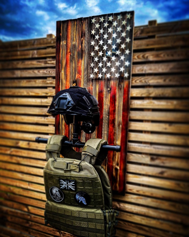 Image of Tactical Gear Rustic Wall Hangers