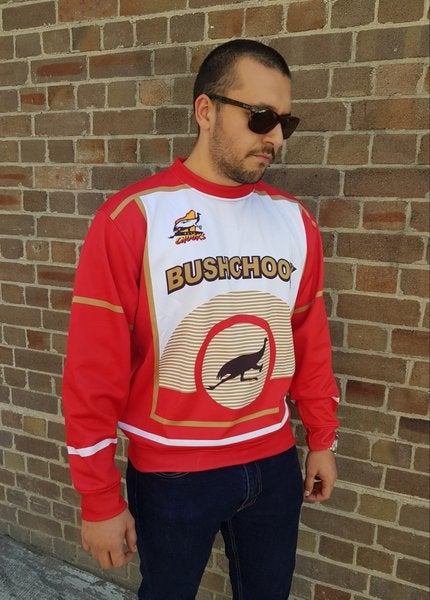Image of Bushchook Retro Crew Sweater