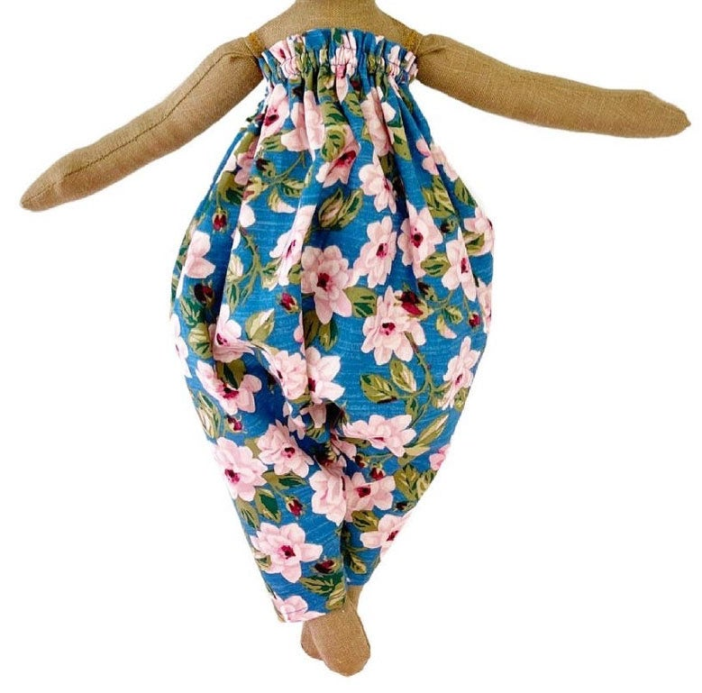 Strapless floral parachute jumper  (PLEASE NOTE: THIS ORDER WILL SHIP ON OR BEFORE OCTOBER 15TH)
