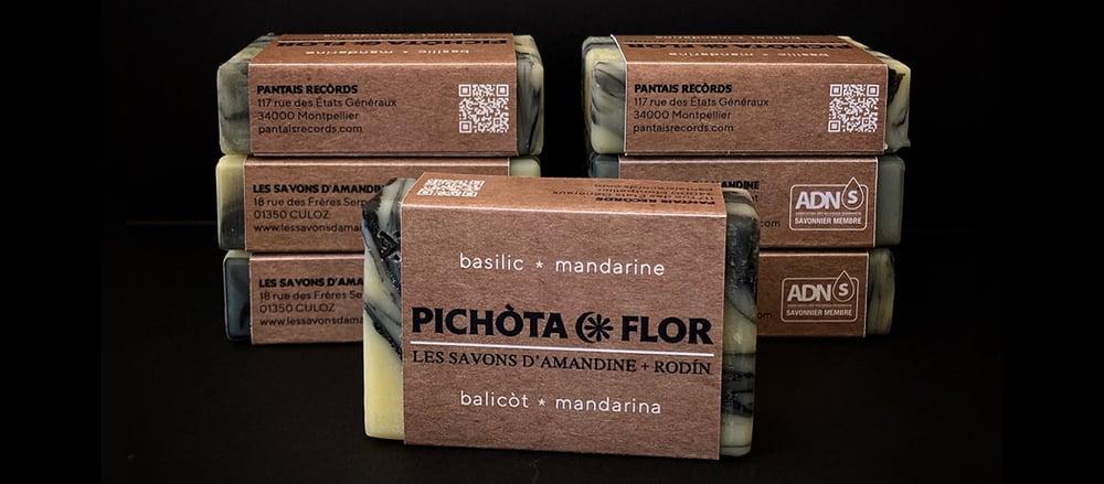 PICHÒTA FLOR [sabon balicòt mandarina] • rodín