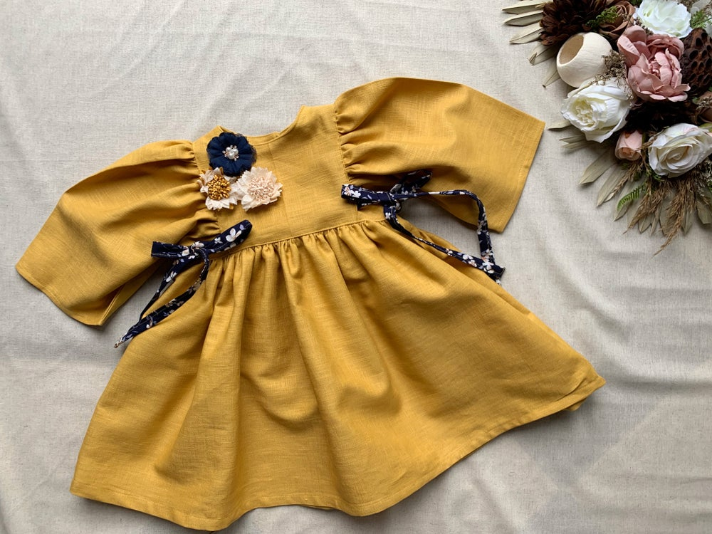 Image of Autumn floral dress