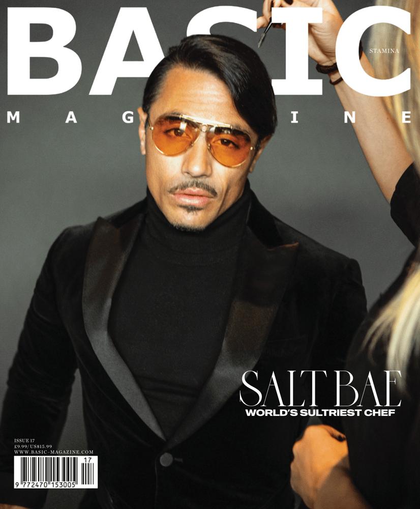 Image of Order BASIC  Salt Bae Cover || STAMINA  Issue 17
