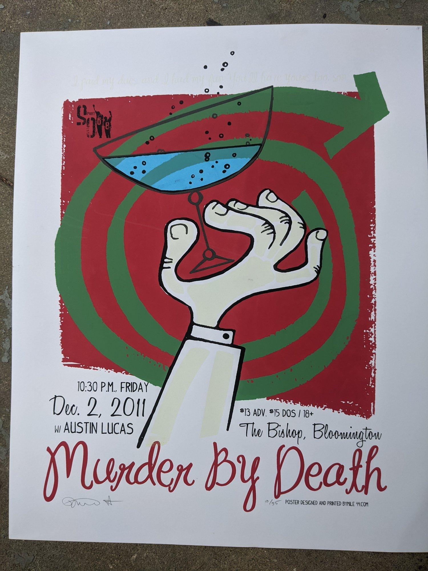 Image of 2011 glow in the dark Bloomington poster